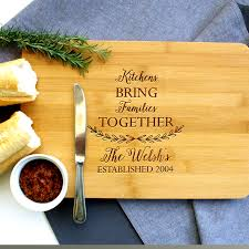 personalised cutting boards personalised chopping board family kitchens