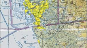 San Diego Airport Terminal Map by Brown Field Ksdm Flying California