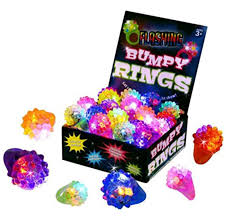 led light up rings light up party supplies i loot bags ideas for kids