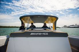 mercedes amg cigarette racing reveal gt3 inspired boat in miami