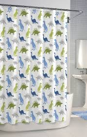 Childrens Shower Curtains by Dino Park Kids Shower Curtain