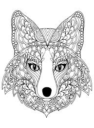 Wolf Cute Fox Animal Colouring Pictures  wwwpicturesbosscom