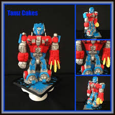 optimus prime cake topper optimus prime cake topper cake by tammy cakesdecor