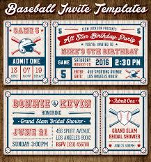 baseball wedding invitations baseball ticket invitation template songwol 7525c7403f96