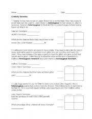 english teaching worksheets genetics