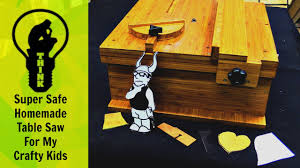 how to make a table saw for kids craft projects woodworking