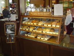 Muffin Display Cabinet Peets Belmontbakerycase Lovely Countertop Display Marketing
