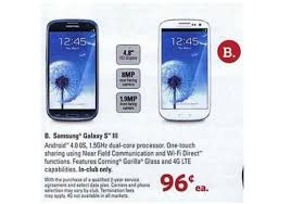 best deals on cell phones on black friday samsung galaxy s3 on sale for 0 96 at sams club on black friday