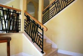 Inside Stairs Design How To Paint Interior Metal Stair Railing Modern Railings Stairs