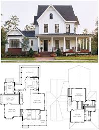 farmhouse houseplans floor plan garage farm houses house designs and floor plans plan