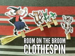room on the broom clothespin add the characters one by one would