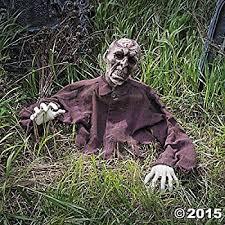 amazon com brain zombie ground breaker halloween decoration prop