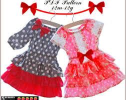 mia girls dress pattern free mother daughter apron pattern