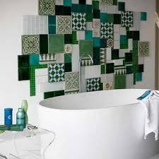 Feature Wall Bathroom Ideas 15 Best Bathroom Patchwork Images On Pinterest Patchwork Tiles