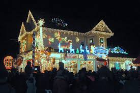 Christmas Lights In Torrance Houses In Dyker Heights Brooklyn Tags Christmas Lights In