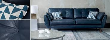 Leather Sofas Sale Uk Zinc Leather 4 Seater Sofa Dfs