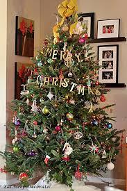 eat sleep decorate diy gold merry christmas garland