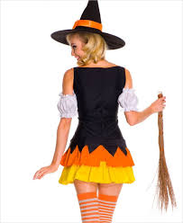 Candy Corn Halloween Costume Chic Candy Corn Witch Costume Ml 70422