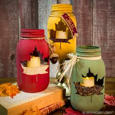 Mason Jar Halloween Lantern Valentine Glitter Votives Leaf Design Chalk Paint And Stenciling