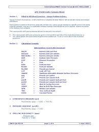 i wcf formula sheet