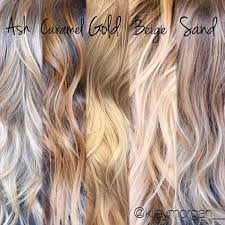 different tones of blonde tips for clients when your a hair
