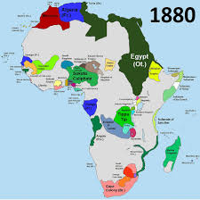 Imperialism Africa Map by
