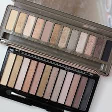 dupe or dud urban decay naked2 palette vs makeup revolution icon