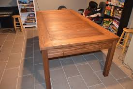 neoprene game table cover tim s gaming table the wood whisperer