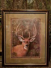 home interiors deer picture home interior buck ebay