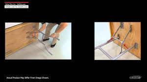 fold up table hinges folding table legs overview dimple lock vs gravity lock youtube