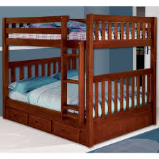 Bunk Bed With Slide Out Bed Wildon Home Cosmo Bunk Bed With Trundle And