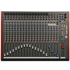 Sound Desk Allen And Heath Zed 24 Mixing Desk For 529 00 Zed24 Eav