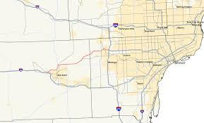 Western Michigan University Map by M 14 Michigan Highway Wikipedia