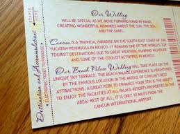 cancun mexico destination wedding invitations lepenn designs