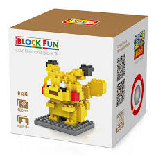 loz diamond blocks loz blocks figures building mini toys pikachu