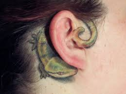 125 sensuous inner behind the ear tattoos 2017 collection part 5