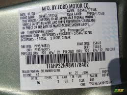ford focus colour code 2008 ford focus s coupe color code photos gtcarlot com