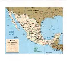 Maps Mexico Download Atlas Map Of Mexico Major Tourist Attractions Maps