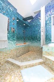 Blue Bathroom Tile by 32 Sea Style Bathroom Interior And Decorating Inspiration Home