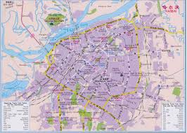 China City Map by Harbin Location China Maps Map Manage System Mms