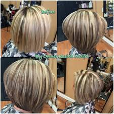 short frosted hair styles pictures highlight lowlights assymetrical bob hair pinterest hair