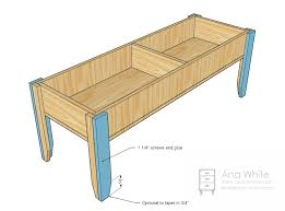 ana white wooden train table coffee table diy projects