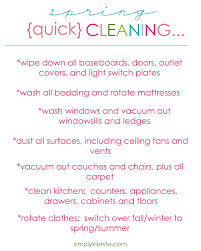 quick cleaning checklist free templates for house cleaning