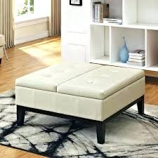 gray leather ottoman coffee table extraordinary large square leather ottoman gray ottoman coffee table