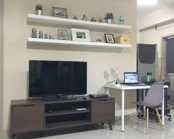 Simple Tv Set Furniture The Renovation Story Seasons Of Life