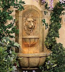 amazon com lion head faux stone 29 1 2