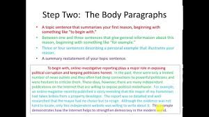 Sample Three Paragraph Essay Toefl Writing Templates Independent Essay Youtube