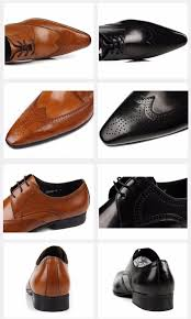 leather shoes luxury designer pointed toe mens dress shoes leather