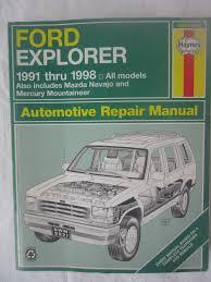 Ford Explorer 1991 - 100 pdf ford explorer manuals brochures manuals u0026