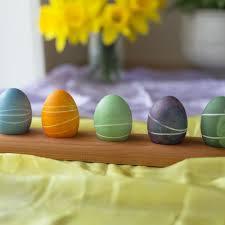 wooden easter eggs decorative wooden easter egg holder toys crafts